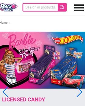 Elindítottuk a Bravo Candy nagykereskedés katalógus oldalát