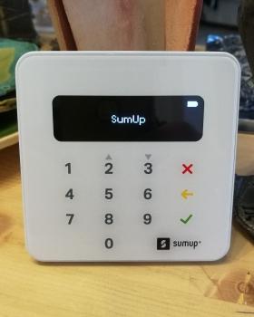 SumUp Air POS bankártya terminál rendelés 23 999 Ft helyett 9 995 Ft-ért